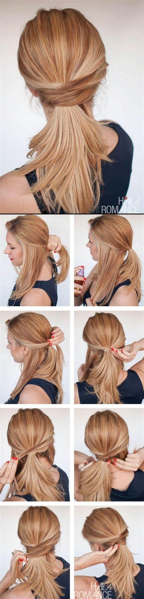 easy hairstyles for office party 10 fa 231 ons de te coiffer si tu es en retard astuces de filles