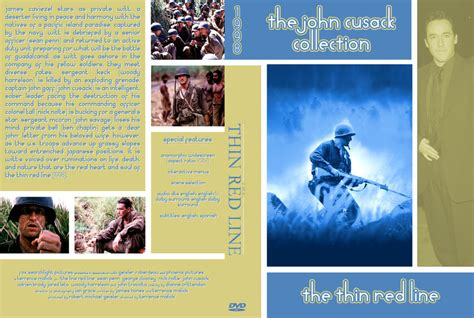 Dvd Original The Thin Line Region 2 the thin line the cusack collection dvd custom covers the thin line