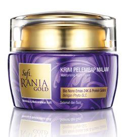 Krim Mata Safi Rania Gold mencuba set penjagaan wajah safi rania gold ibumifzal