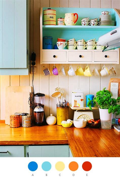 bright colors in kitchen design her beauty 57 bright and colorful kitchen design ideas digsdigs
