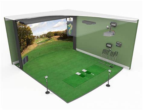 Golf Swing Simulator by New Curved Screen Golf Simulators Hd Golf