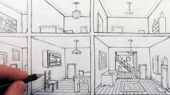 Sketchroom How To Draw A Room In One Point Perspective In A House