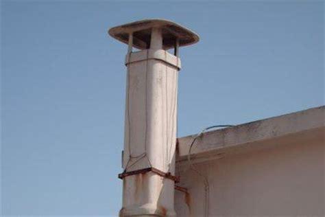 tiraggio forzato camino sostituzione di una canna fumaria in eternit