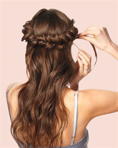 diy wedding updos martha stewart weddings