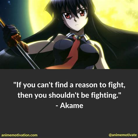 anime fight quote 18 best images about akame ga kill quotes on