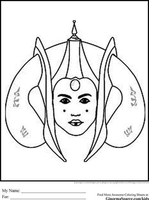 star wars queen amidala coloring page star wars clone trooper coloring pages coloring home