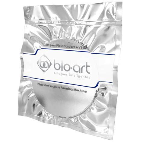 Bio 2mm placa para moldeira cristal 2 0mm bioart surya dental