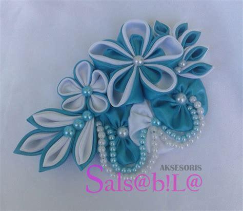 Kanzashi Bros Simple Murah Cantik bros bunga kanzashi salsabila aksesoris