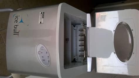 macchina ghiaccio casa vendo macchina produzione cubetti ghiaccio bull su