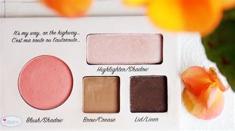 Palatte California By The Balm thebalm autobalm california palette review