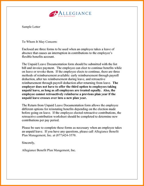 cover letter to whom it may concern to whom it may concern letter 1161