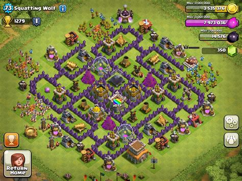 best clash of clans town hall 8 farming top 3 town hall 8 farming bases clash of clans youtube