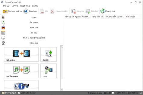 format factory tieng viet formatfactory 3 9 0 1 portable phần mềm chuyển đổi