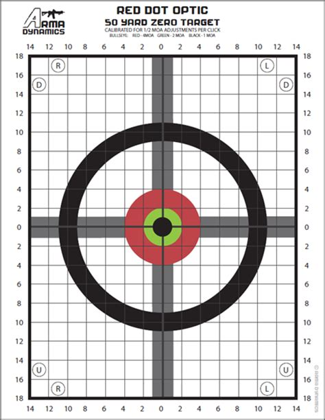 printable targets for zeroing arma dynamics targets