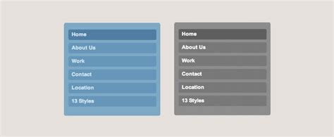 design menu bar in css rounded css menu design shack