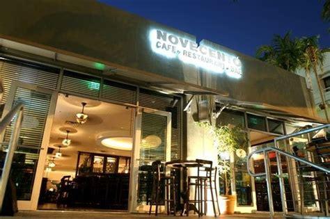 novecento brickell miami downtown menu prices