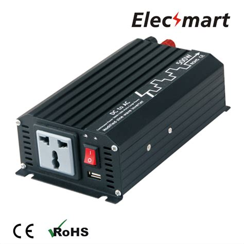 Suoer Power Inverter 500w Modified Sine Wave power inverter 500w 12vdc to 220vac modified sine wave with usb output in inverters converters