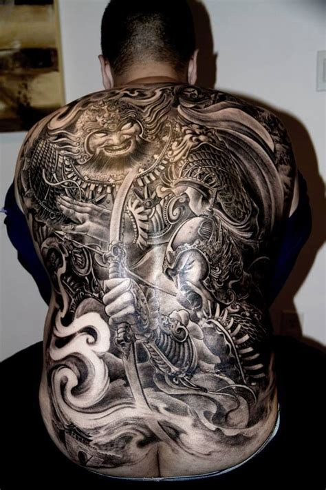 tattoo back warrior 10 best images about chinese japanes tattoo on pinterest
