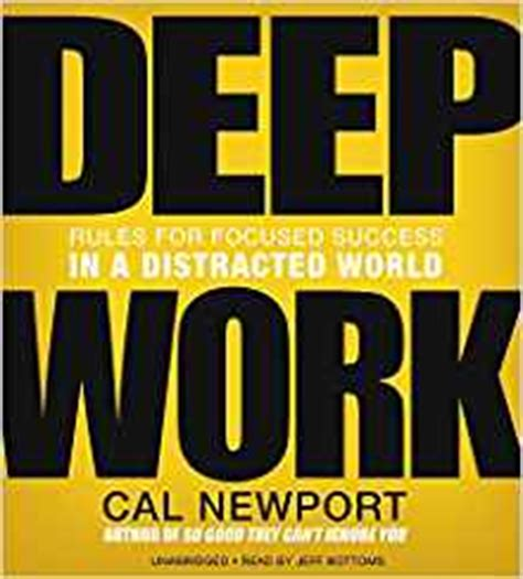 deep work rules for 0349411905 deep work rules for focused success in a distracted world amazon co uk cal newport