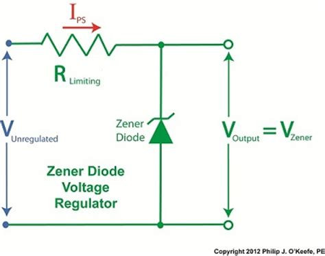 zener diode regulator circuit calculation voltage archives tank engineering and management consultants inc