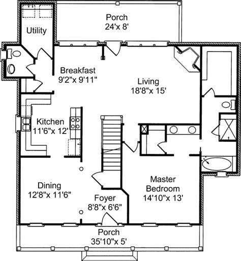 house plan 2428c the winthrop floor plan details house plans home plans and floor plans from ultimate plans