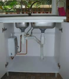 Kitchen Sink Water Heater Words Through My Fingers Renovation Water Heaters