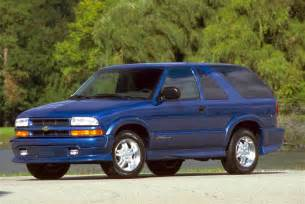 Chevrolet Blazers 2001 Chevrolet Blazer Pictures History Value Research