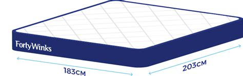 length of king bed bed size guide help faqs forty winks