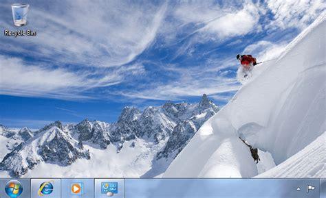 winter themes for windows 8 1 desktop fun best winter windows 7 themes collection