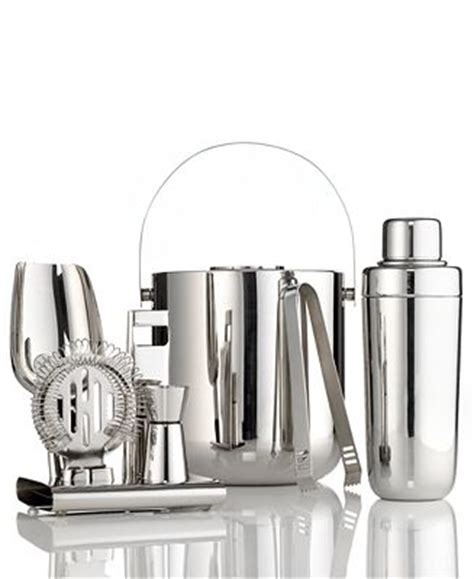 Hotel Collection Barware Hotel Collection Barware Stainless Steel Collection Bar