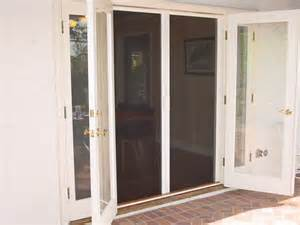 Double french doors with screens interior amp exterior doors