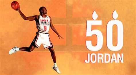 imagenes basquetbol jordan las 50 im 225 genes de michael jordan en su 50 cumplea 241 os