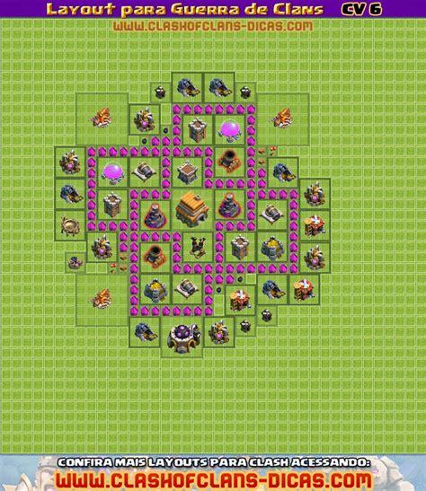 layout para cv 5 layouts para guerra de clans cv 6 clash of clans dicas