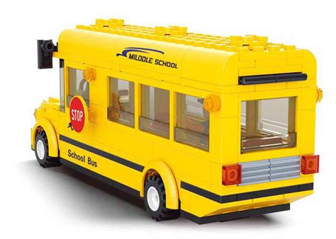 Sluban Small School M38 B0507 sluban school b0507 compatible with lego building block set ebay