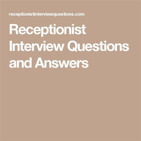 best 25 receptionist ideas on application for