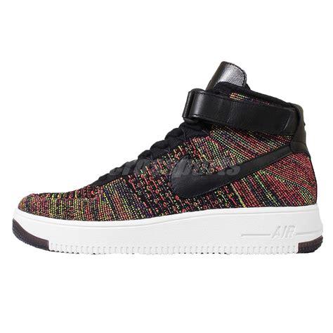 Nike Air One Af 1 Rainbow nike af1 ultra flyknit mid black rainbow air 1 mens