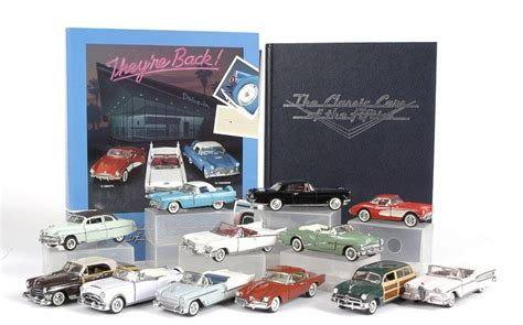 Fm 43 Classic 1 classic cars of the 50 s franklin mint 1 43