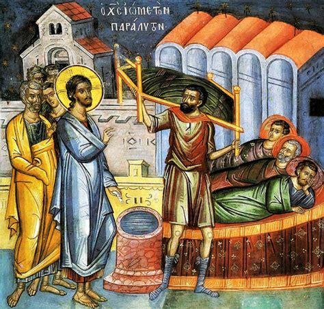 l uomo della vergine a letto vangelo 6 luglio resero gloria a dio aveva dato un