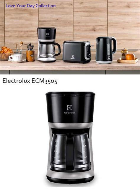 Coffee Maker Electrolux Ecm 3100 electrolux coffee maker espresso machine 12cups your