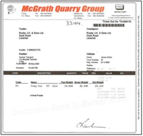 calcium carbonate traceability congcal congcal a