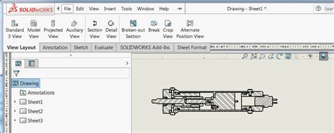 Combine 2 Sketches Solidworks by Combine Drawings Into A Multi Sheet Solidworks