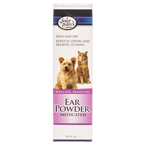 ear powder for dogs four paws four paws ear powder medicated ear care for dogs