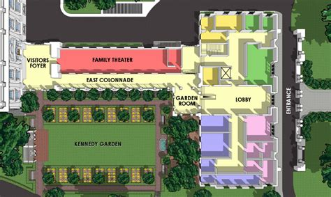 white house layout residence white house floor plan west wing east house plans 65558