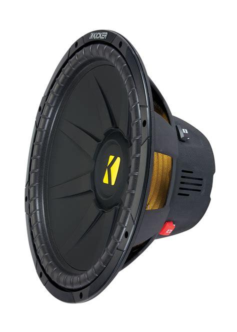 kicker cwd compd   dual voice coil  ohm subwoofer