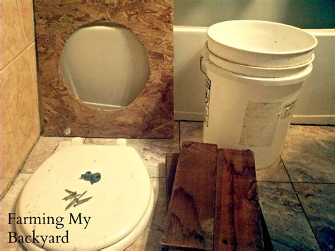 Homemade Composting Toilet by Diy Composting Toilet Farming My Backyard