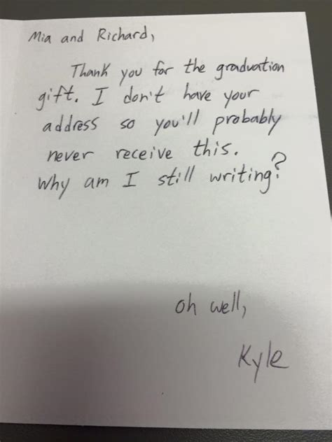 thank you letter for parents before graduation what happens when parents make a troll write thank you