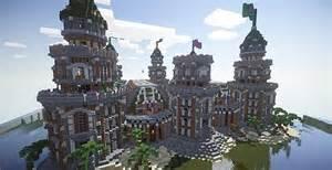 Medieval Castle Interior Design Pigron Castle Faction Base Minecraft Building Inc