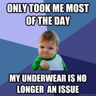 Underwear Meme - success kid memes quickmeme