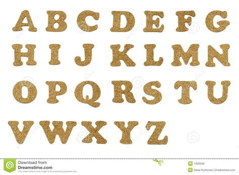 cork letters royalty free stock images image 1359349