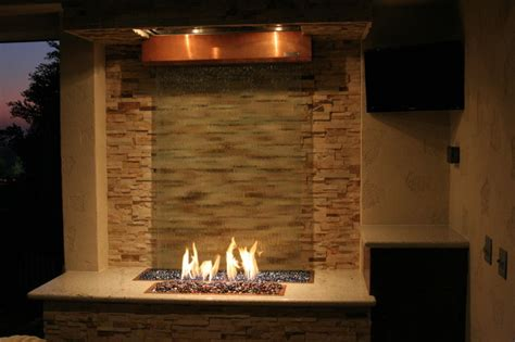 Fire and Water Feature   Eclectic   Patio   los angeles